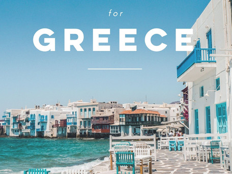 Your Summer Packing Guide for Greece