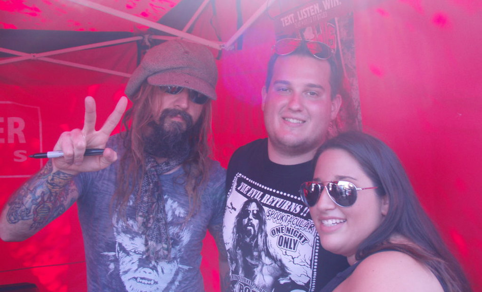 Rob Zombie Festival Signing