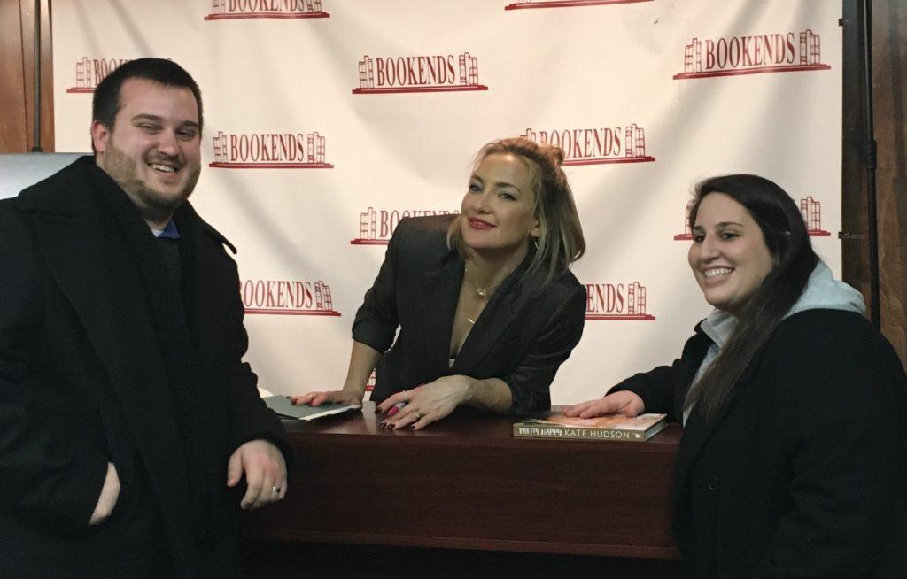 Kate Hudson Book Signing