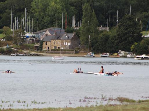 L'Ecole de Stand up paddle sur la Rance est ouverte depuis fin mars