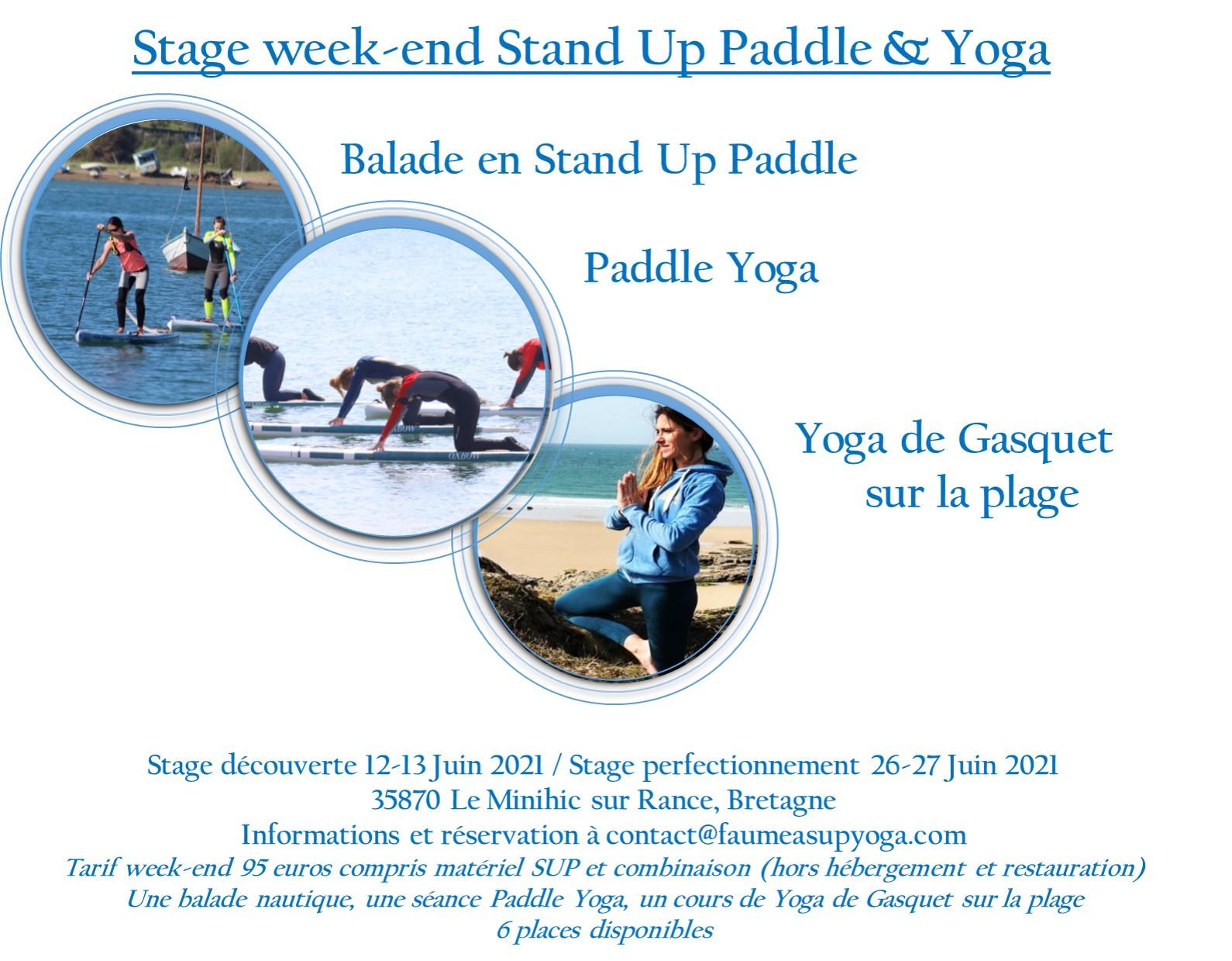 Stage week end Yoga & Paddle