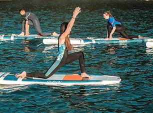 faumea SUP Yoga paddle yoga