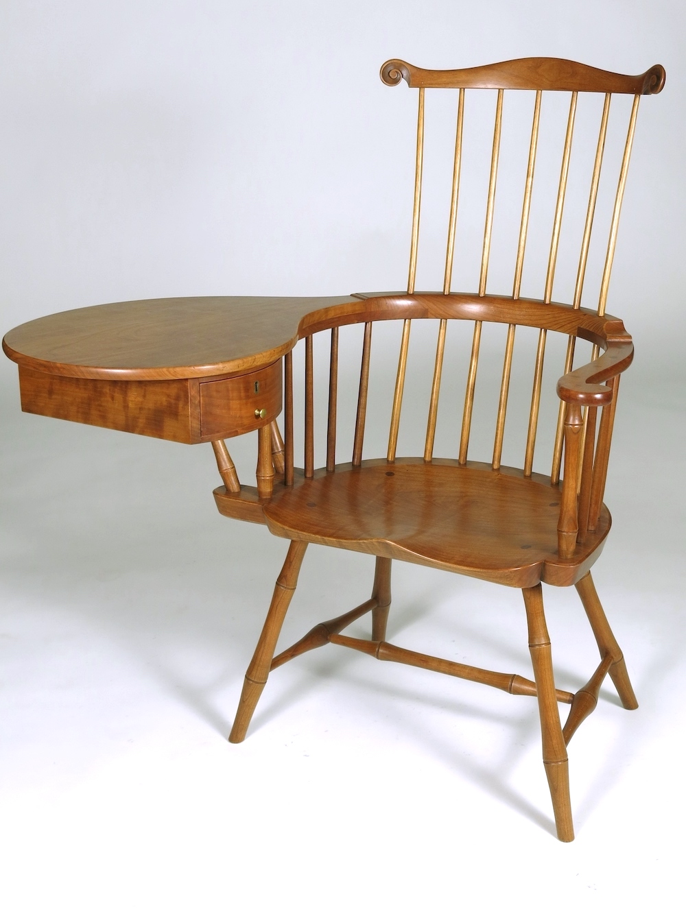 Windsor Writing Arm Chair