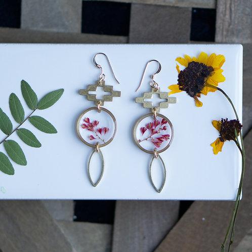 Wildflower Dangle Earrings
