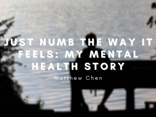 Just Numb the Way it Feels: My Mental Health Story