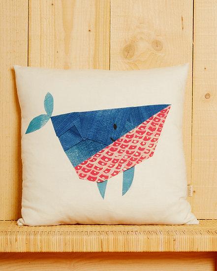 Kujira The Whale Cushion Cover