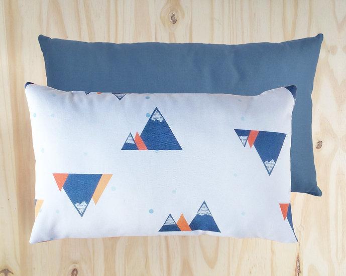 Mega Mountain Cushion Cover Grey 30x50cm