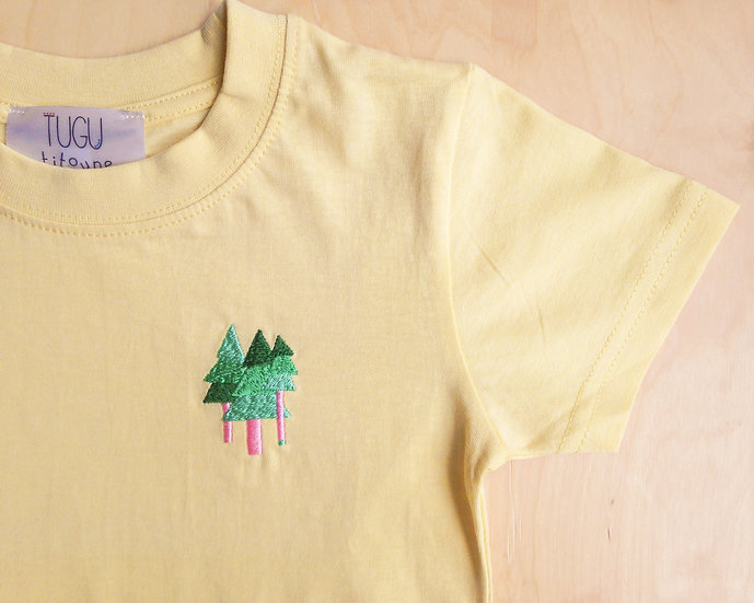 Tall Tall Trees T-Shirt Age 4 or 5 Years