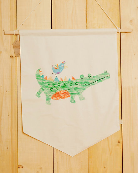 Chatty Croc Wall Hanging