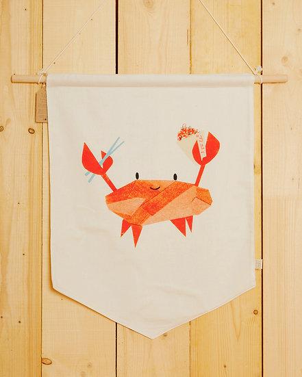 Kani The Crab Wall Hanging