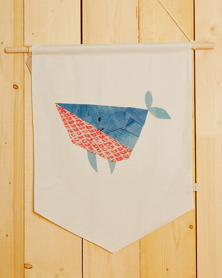 Kujira The Whale Wall Hanging