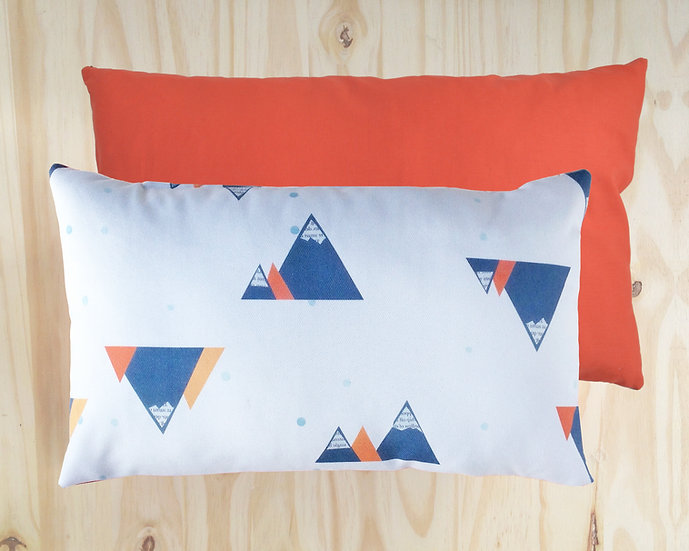 Mountain Cushion Cover Orange 30x50cm