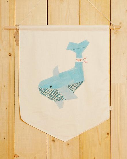 Tākoizu The Shark Wall Hanging