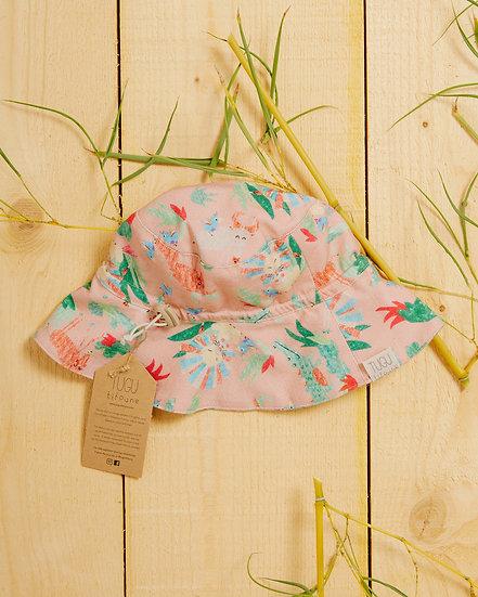 Sophie's Safari Dusty Pink Sun Hat
