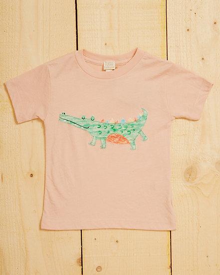 Smiley Croc Appliqué T-shirt