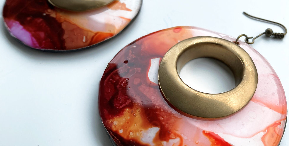 Earthy Bronze Earrings