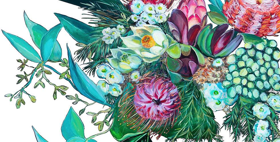 Ltd Ed Print Bushman's Bloom II