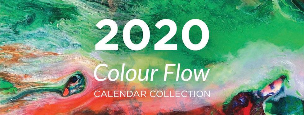 Colour Flow Calendar 2020