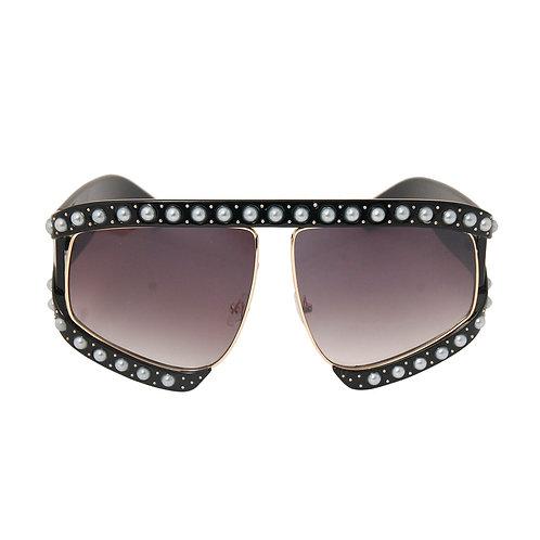 Black and Pearl Sunglasses