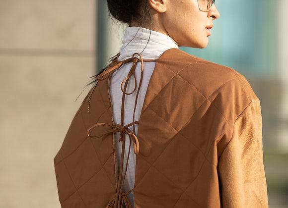 Куртка-болеро на завязках