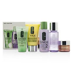 Clinique women Daily Essentials Set (Dry Combination)