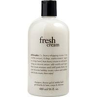 Philosophy women Fresh Cream Shampoo, Shower Gel & Bubble Bath