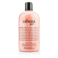 Philosophy women Cabana Girl Shampoo, Shower Gel & Bubble Bath