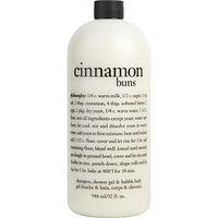 Philosophy women Cinnamon Buns Shampoo, Shower Gel & Bubble Bath