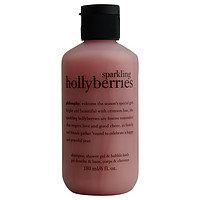 Philosophy women Sparkling Holly Berries Shampoo & Shower Gel & Bubble Bath
