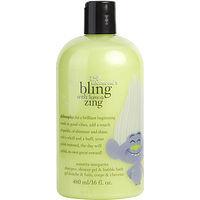 Philosophy women Bling With Lemon Zing Shampoo, Shower Gel & Bubble Bath