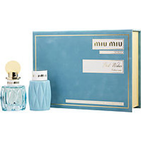 Miu Miu L'Eau BleueEau De Parfum Set by Miu Miu