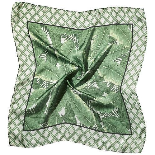 "Bamboo & Palms Lola Square Scarf - 21.5"" x 21.5"""