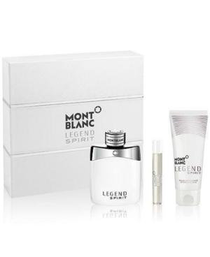 Mont Blanc Legend Spirit 3 Piece Gift Set