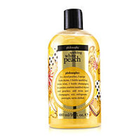 Philosophy women Sparkling White Peach Shampoo, Shower Gel & Bubble Bath