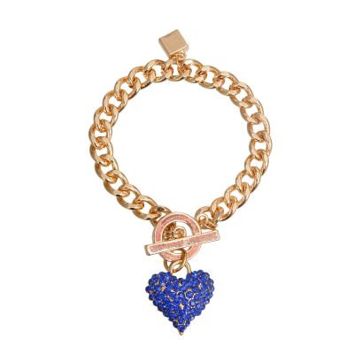 Heart Bar Toggle Bracelet