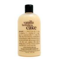Philosophy women Vanilla Birthday Cake Shampoo, Shower Gel & Bubble Bath