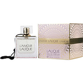 L'Amour Lalique Eau De Parfum Spray 3.3 oz by Lalique