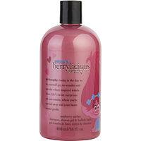 Philosophy women Poppy's Berrylicious Journey Shampoo, Shower Gel & Bubble Bath