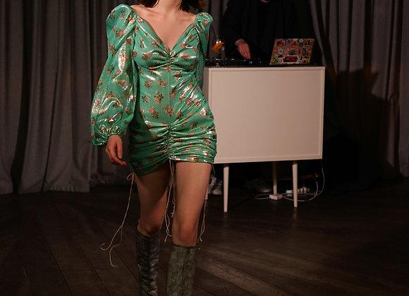 Платье из шелкового шифона
