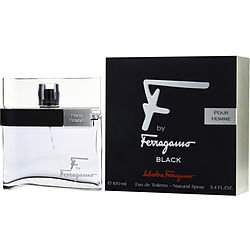 F By Ferragamo Pour Homme Black men Eau De Toilette Spray by Salvatore Fe