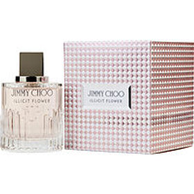 Jimmy Choo Illicit Flower Eau De Toilette Spray 3.3 oz by Jimmy Choo