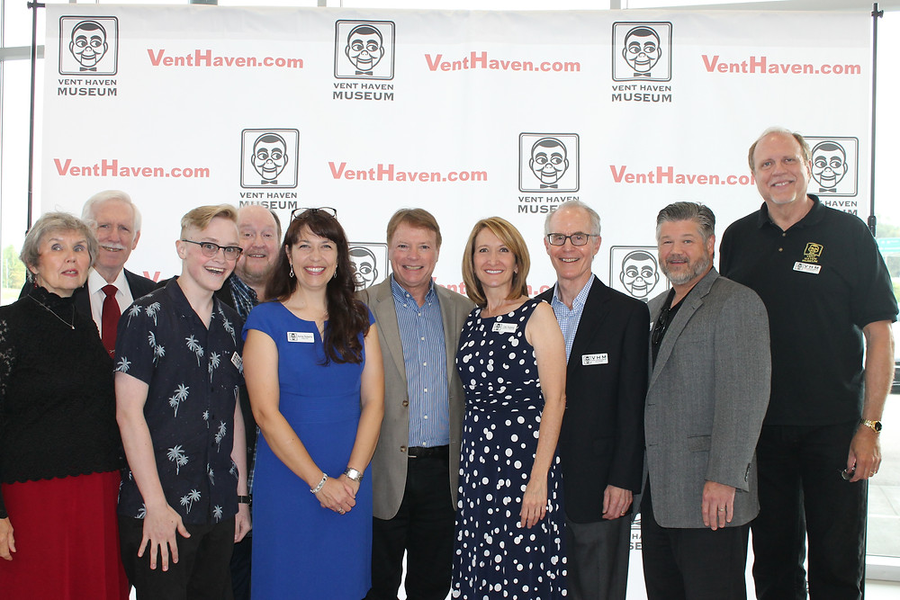 From l to r: Kit Wylly, Bob Wylly, Jeff Golc, Tom Ladshaw, Annie Roberts, Jay Johnson, Lisa Sweasy, Mark Hellerstein, Brook Brooking, Lee Cornell
