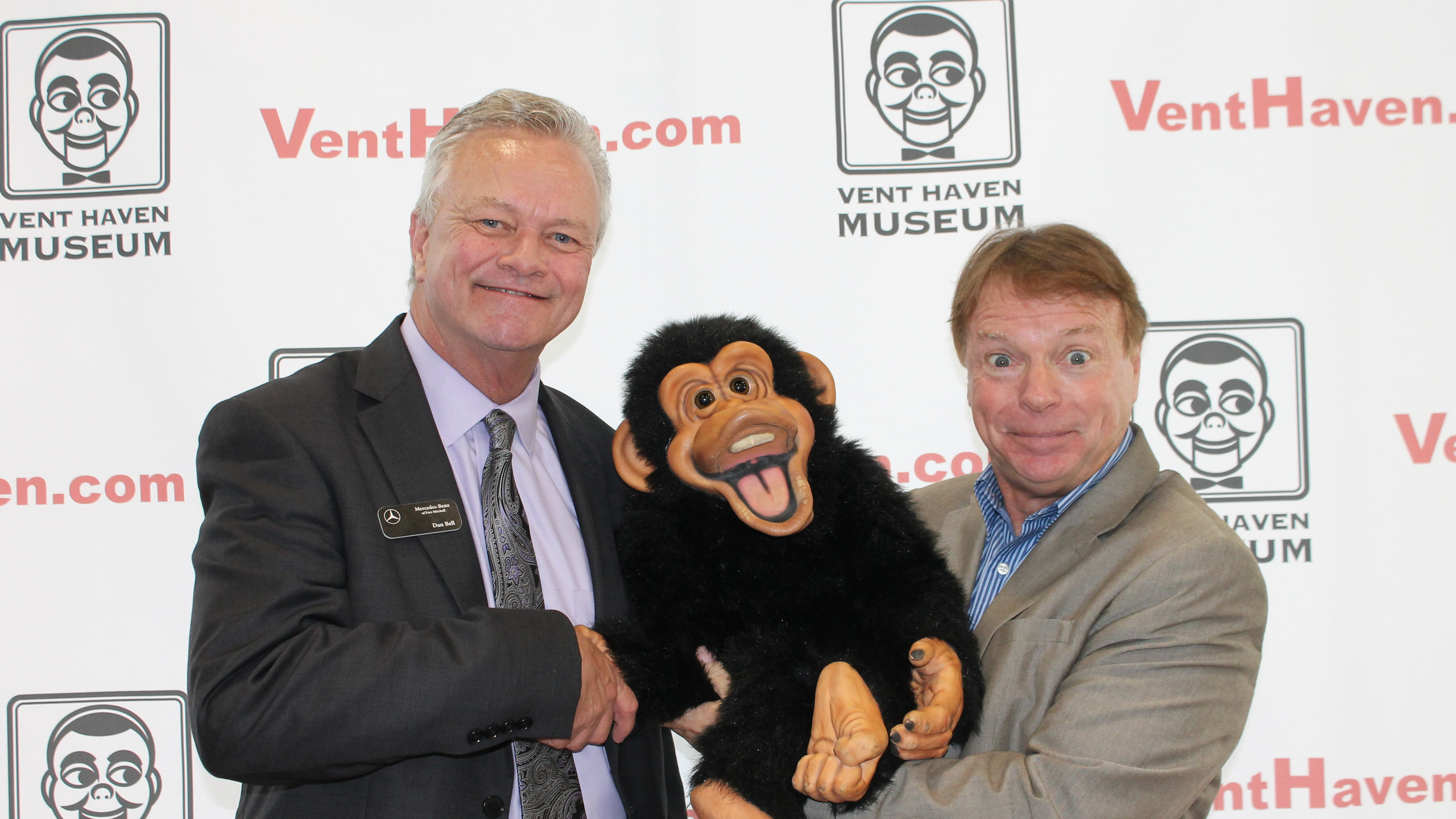 Monkey is thrilled!