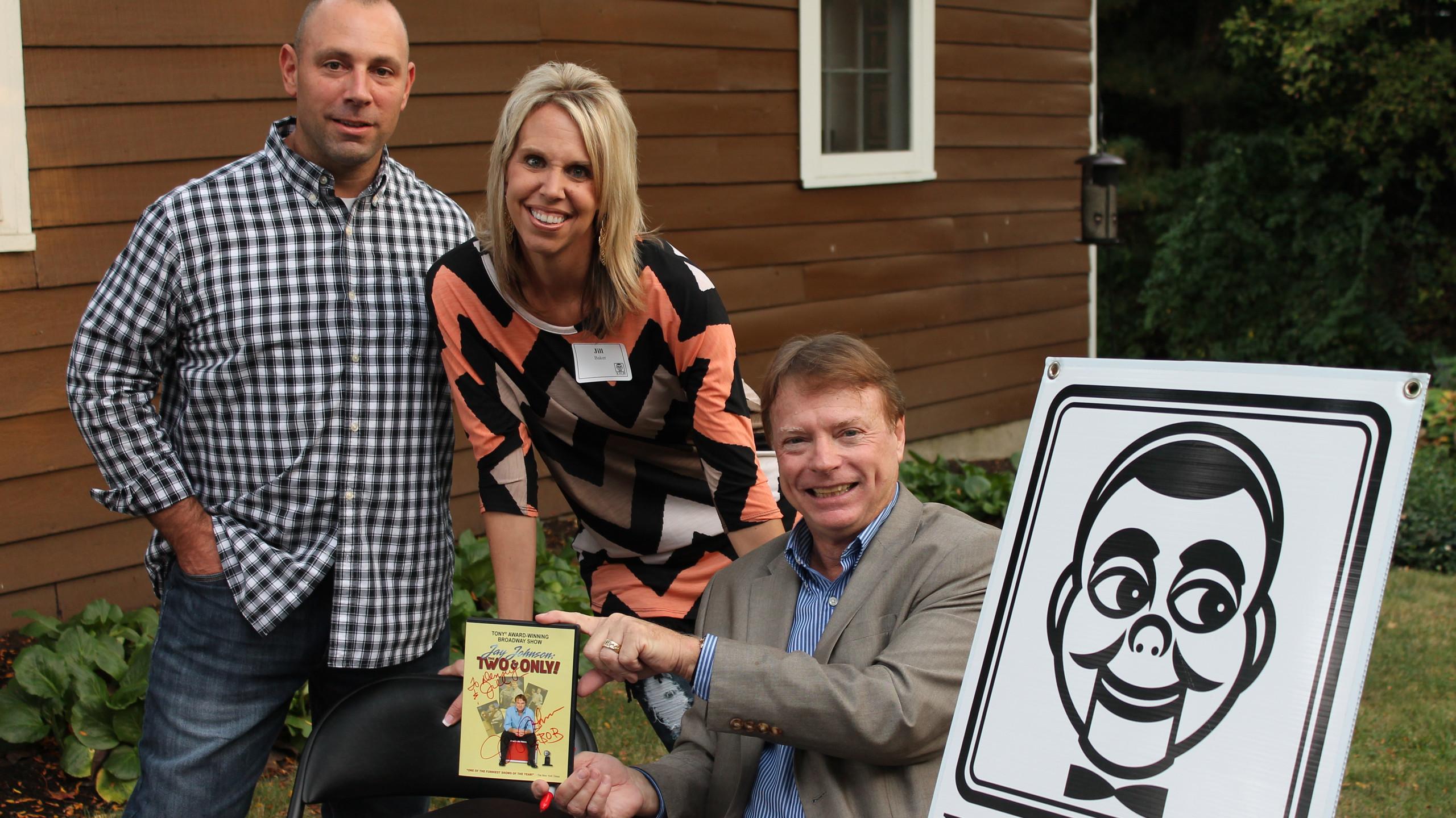 Denny & Jill Baker with Jay