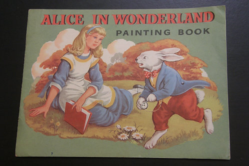 Alice in Wonderland Painting Book
