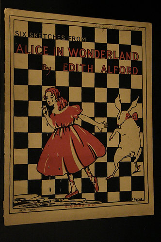 Six Sketches from Alice in Wonderland