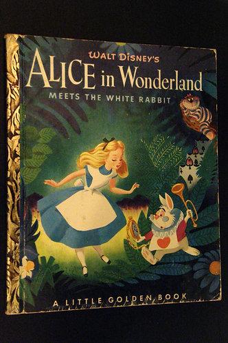 Walt Disney's Alice in Wonderland Meets the White Rabbit