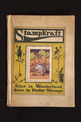 StampKraft Alice in Wonderland done in Poster Stamps