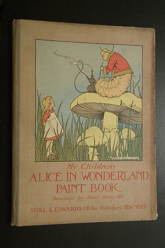 My Children's Alice in Wonderland Paint Book