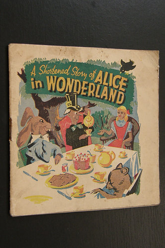 A Shortend Story of Alice in Wonderland